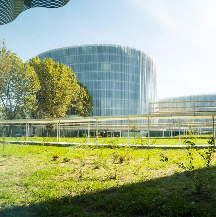Campus Bocconi | Lastra tralicciata predalle FORMA