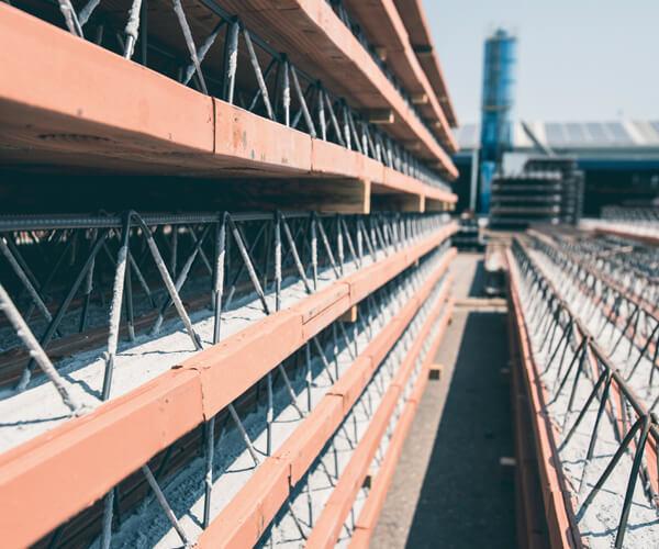 Travetti tralicciati in latero-cemento | FORMA Solai